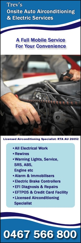 Trev's Onsite Auto Airconditioning & Electrical Service ...