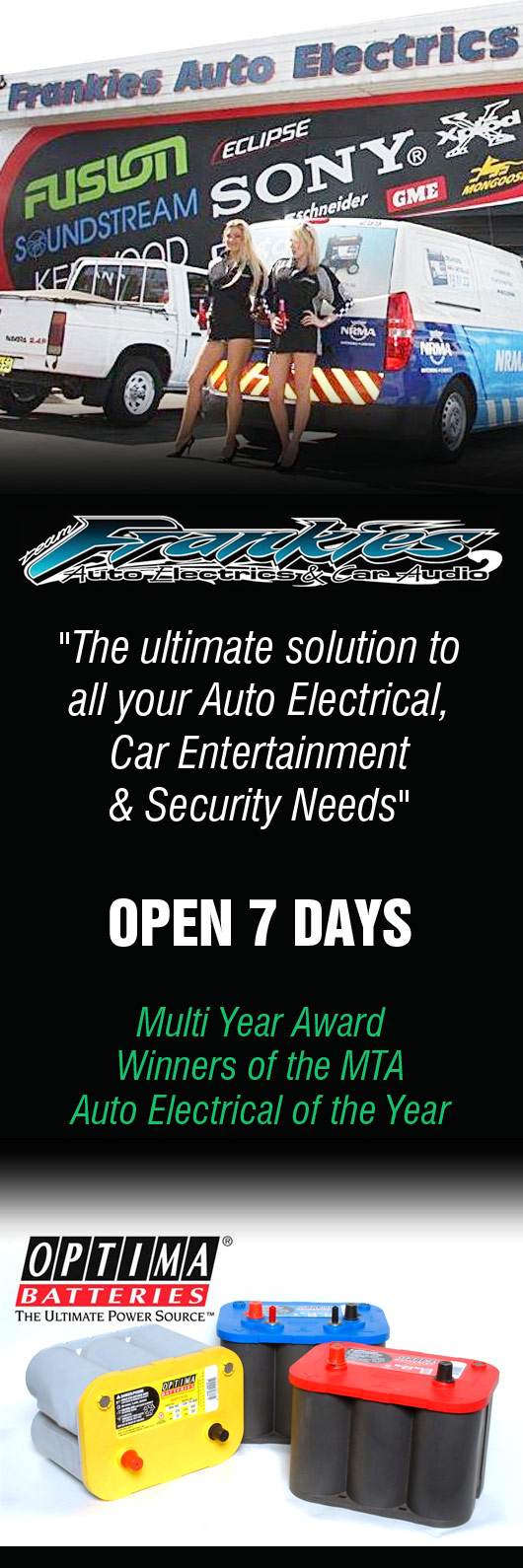 Frankies Auto Electrics & Car Audio - Auto Electrician Services