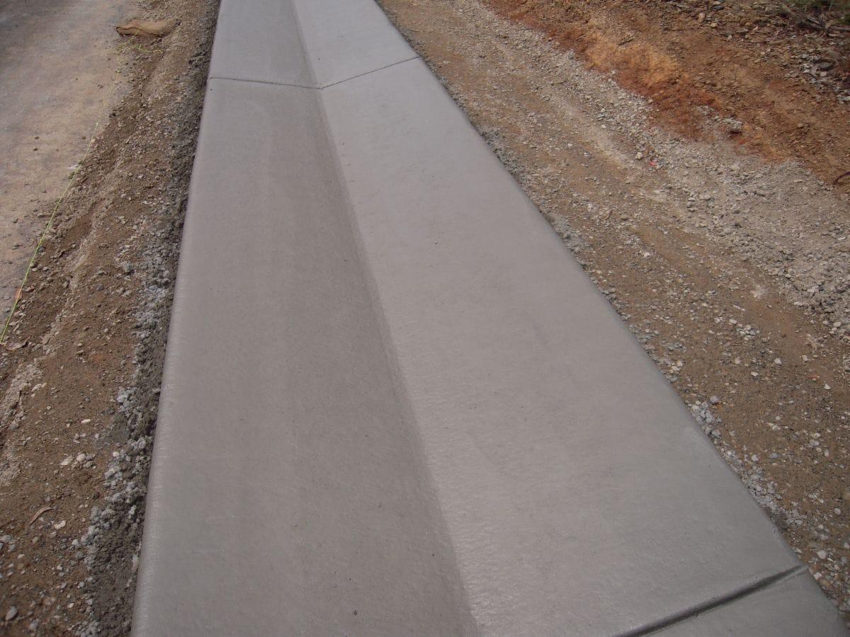 Delta Machine Kerbing Pty Ltd Concrete Gutters Amp Kerbs