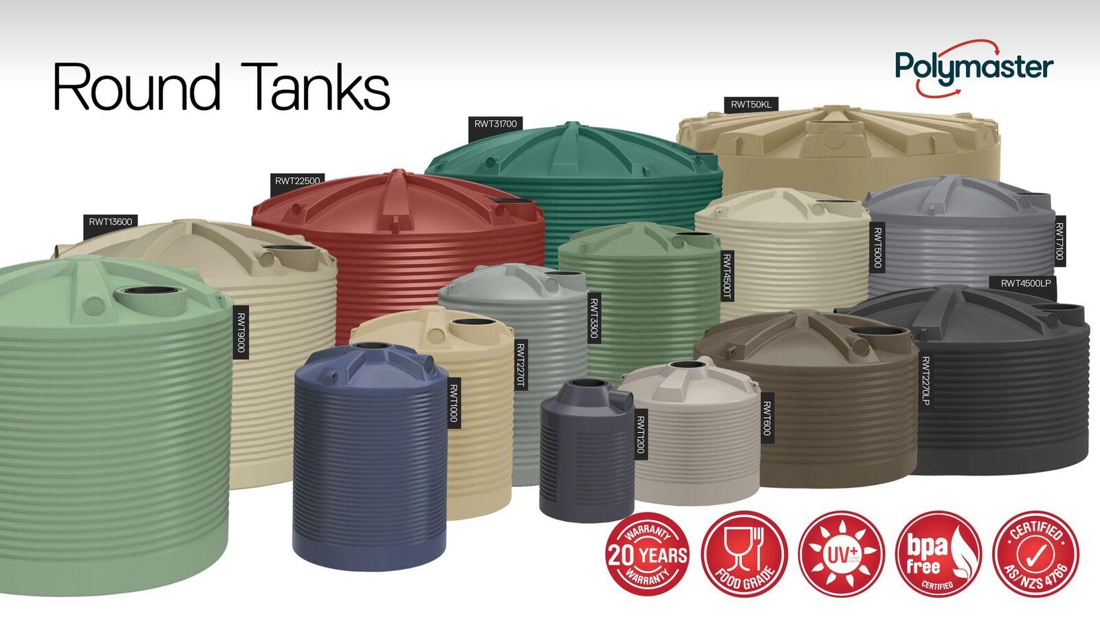 Polymaster Group - Water Tanks & Tank Supplies - Wangaratta