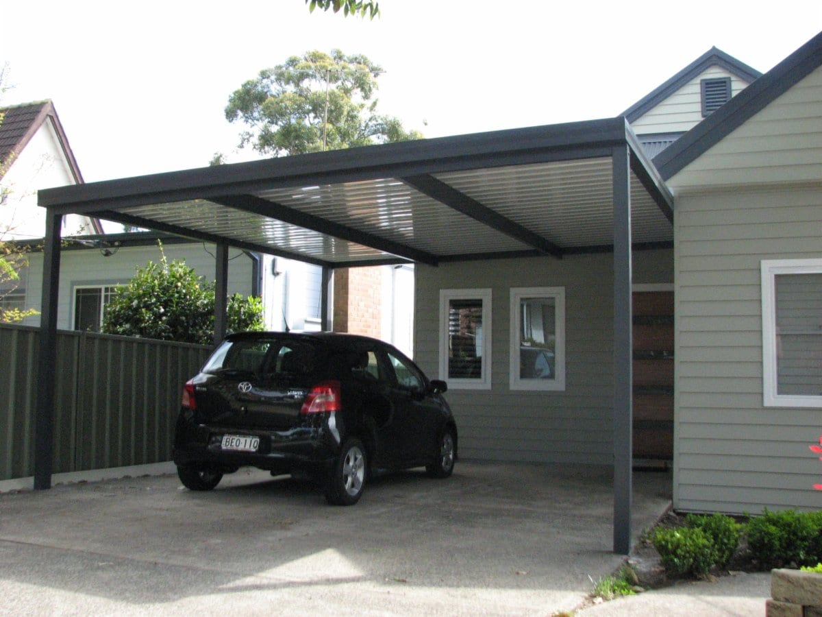 Star port constructions pty ltd carports pergolas for Carport in front of house