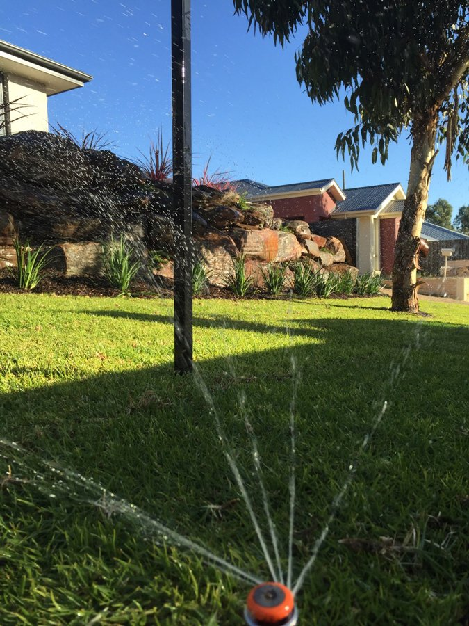 Outside matters landscaping irrigation adelaide for Adelaide hills landscape