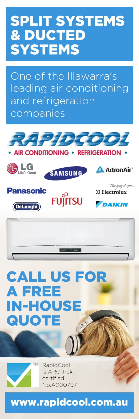 rapidcool air conditioning & electrical pty ltd - air conditioning