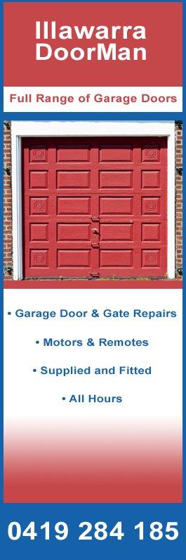 Illawarra Doorman Garage Doors Fittings Wollongong