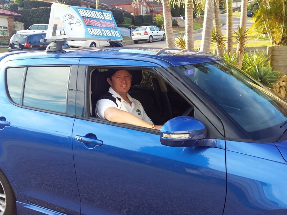 driving manual on auto license nsw