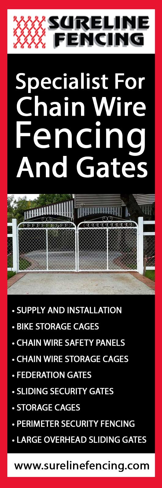 Sureline Fencing - Gates - BRENDALE