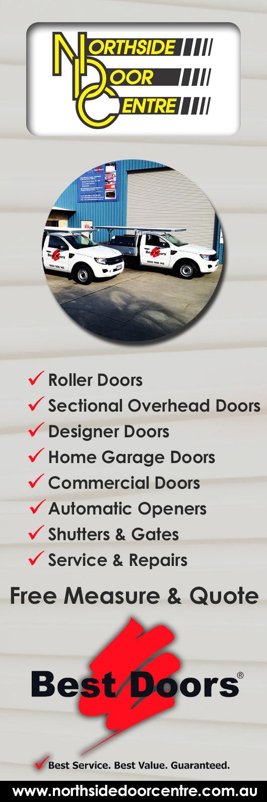 Northside Door Centre Garage Doors Fittings 8 Oasis Ct Clontarf