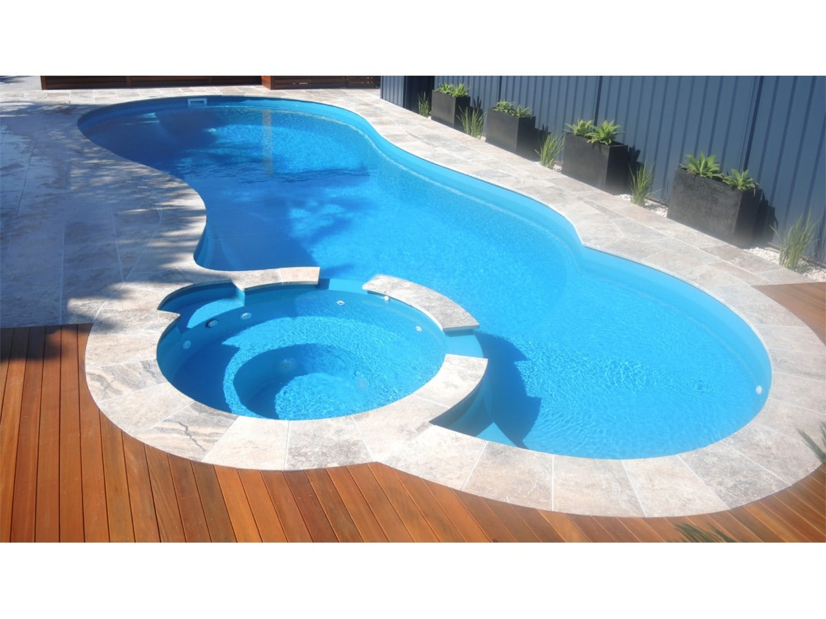 Leisure pools rockhampton swimming pool designs for Pool design hamptons