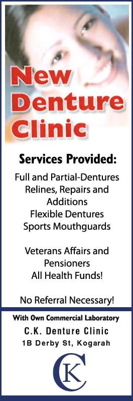 C  K  Denture Clinic - Dental Prosthetist - 1B Derby St - Kogarah