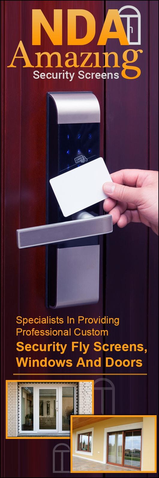 NDA Amazing Security Screens - Promotion & NDA Amazing Security Screens - Security Doors Windows \u0026 Equipment ...