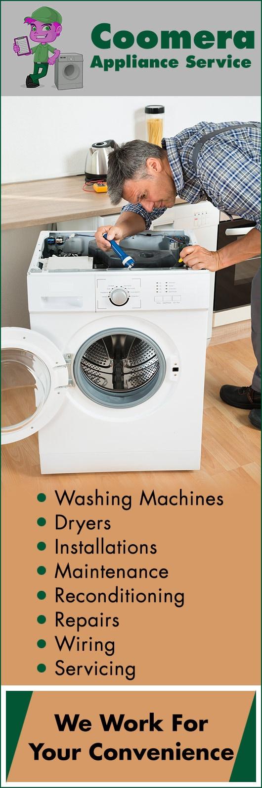 Coomera Appliance Service - Washing Machines & Dryer Repairs
