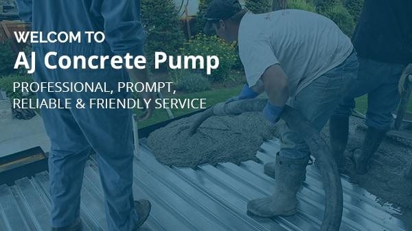 AJ Concrete Pump - Concrete Pumping - Carramar