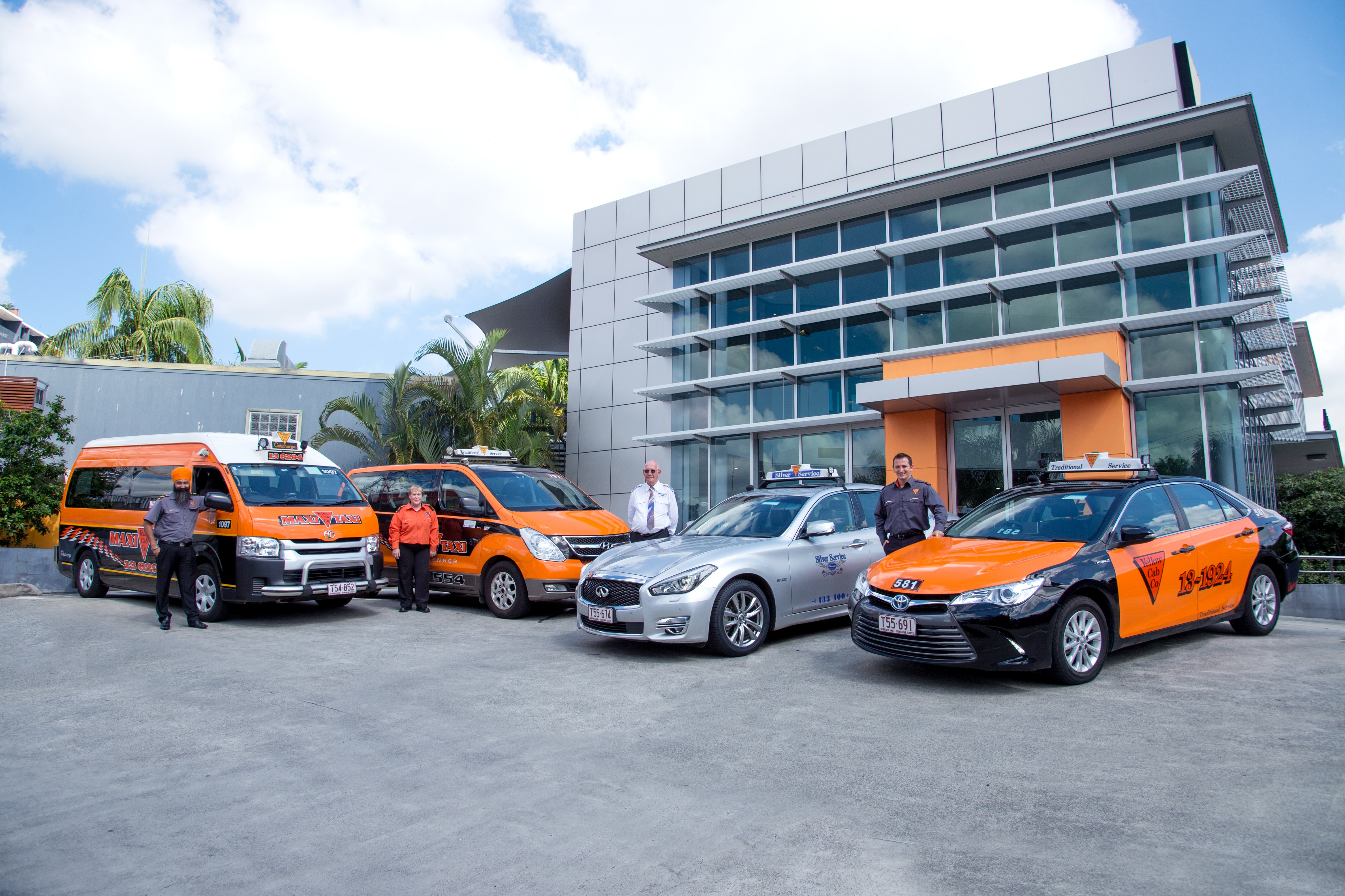 Yellow Cab Co. - Taxi - Brisbane