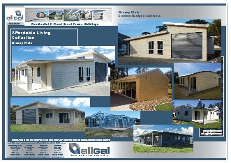 Allgal Residential & Rural Steel Frame Buildings - Rural