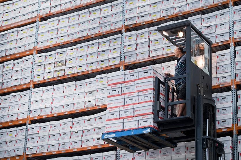 Grace information management business records management for Safe document storage