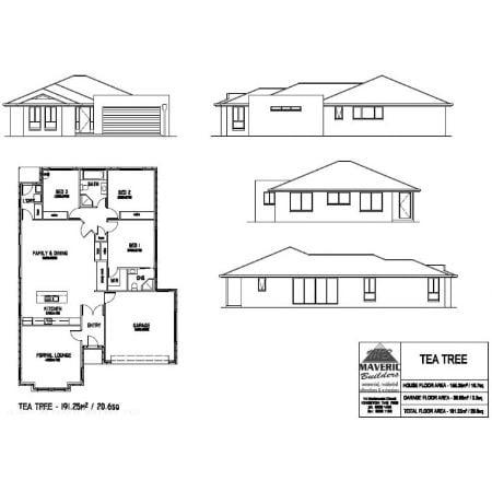 Maveric builders pty ltd on 14 mertonvale cct kingston for Share builders plan