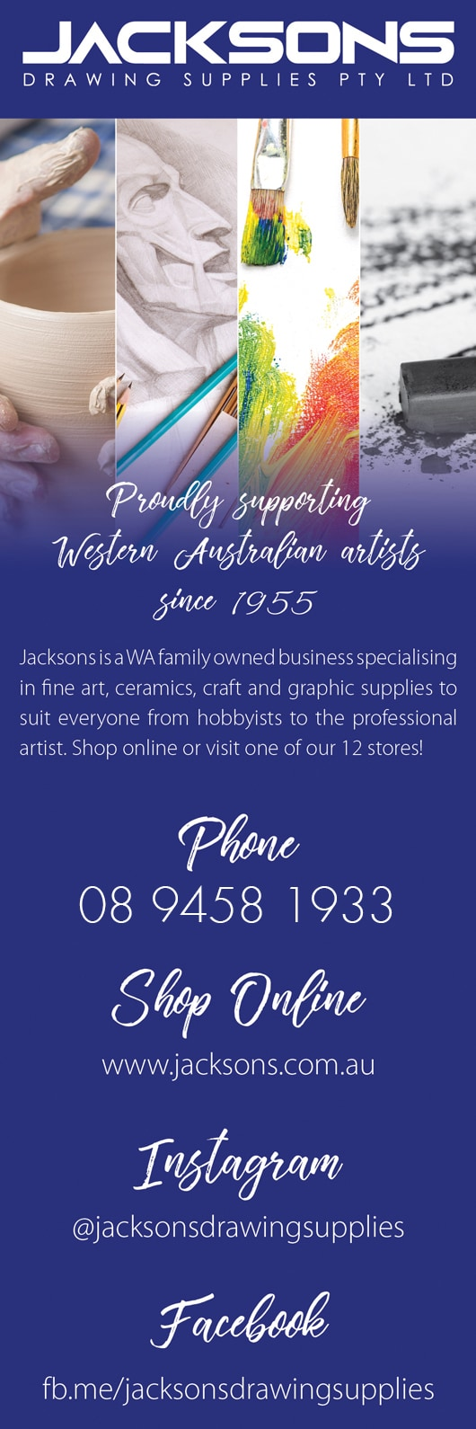 Jacksons Drawing Supplies - Art Supplies - Unit 10 1468 Albany Hwy