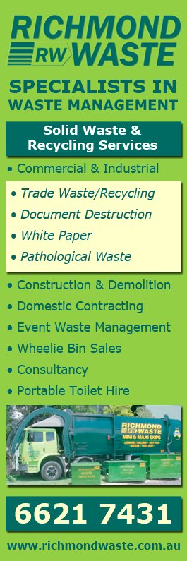 Richmond waste services document shredding ballina for Document shredding richmond va