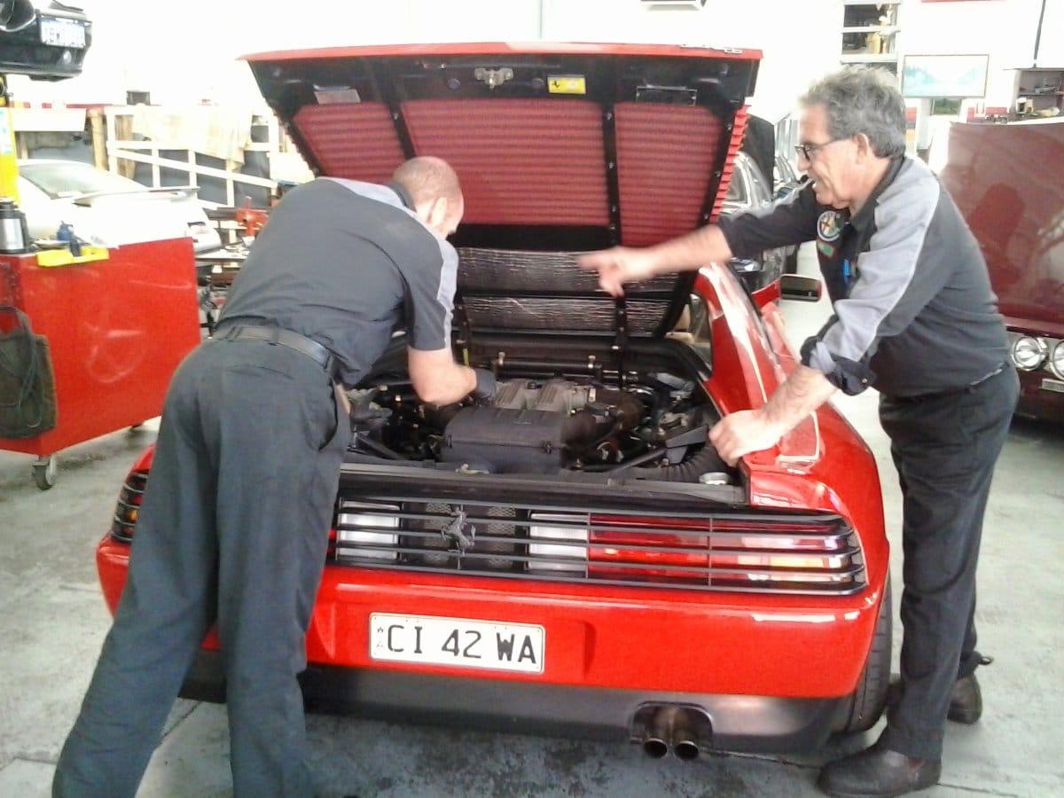 Cileberti Motors Car Parts 128 Hector St West Osborne Park Alfa Romeo Timing Belt Workshop Ferrari
