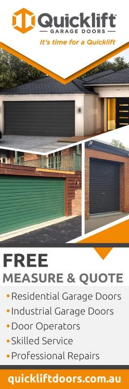 Quicklift Garage Doors - Promotion & Quicklift Garage Doors - Garage Doors \u0026 Fittings - FOOTSCRAY