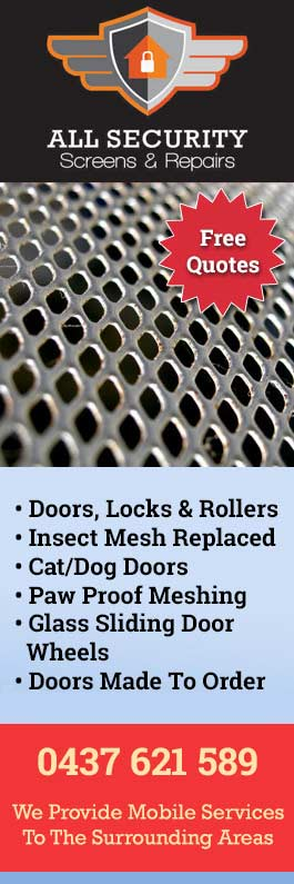 All Security Screens & Repairs - Security Doors, Windows ...