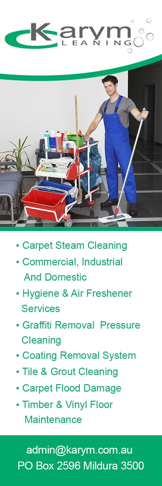 Karym Cleaning Commercial Industrial Cleaning Services Mildura