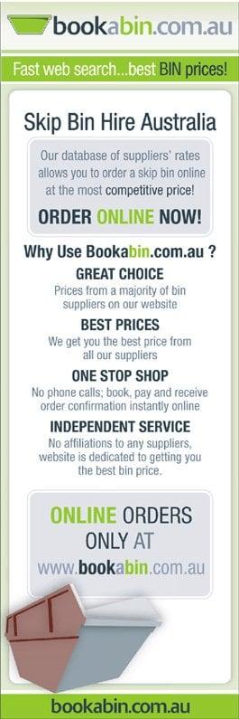 www bookabin com au - Rubbish Removal & Skip Bins - Adelaide