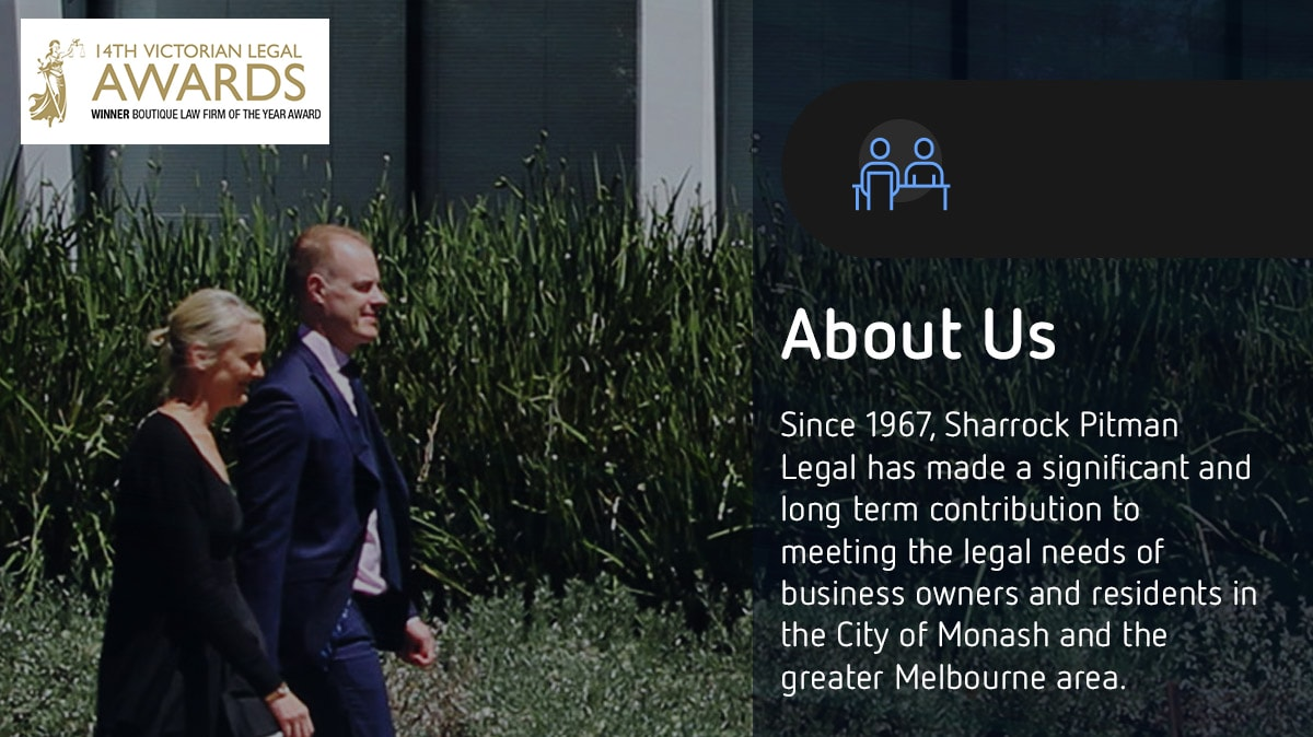 Sharrock Pitman Legal - Lawyers & Solicitors - Melbourne