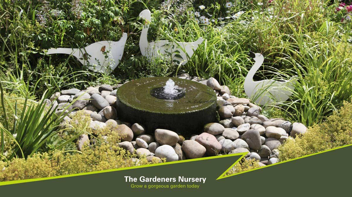 the gardeners nursery water features ponds garden ornaments