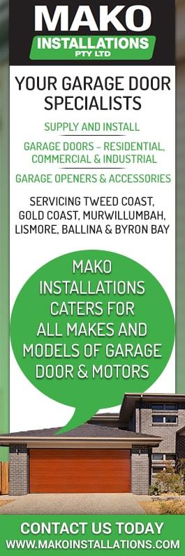 Mako Installations Pty Ltd Garage Doors Fittings 554 Kyogle Rd