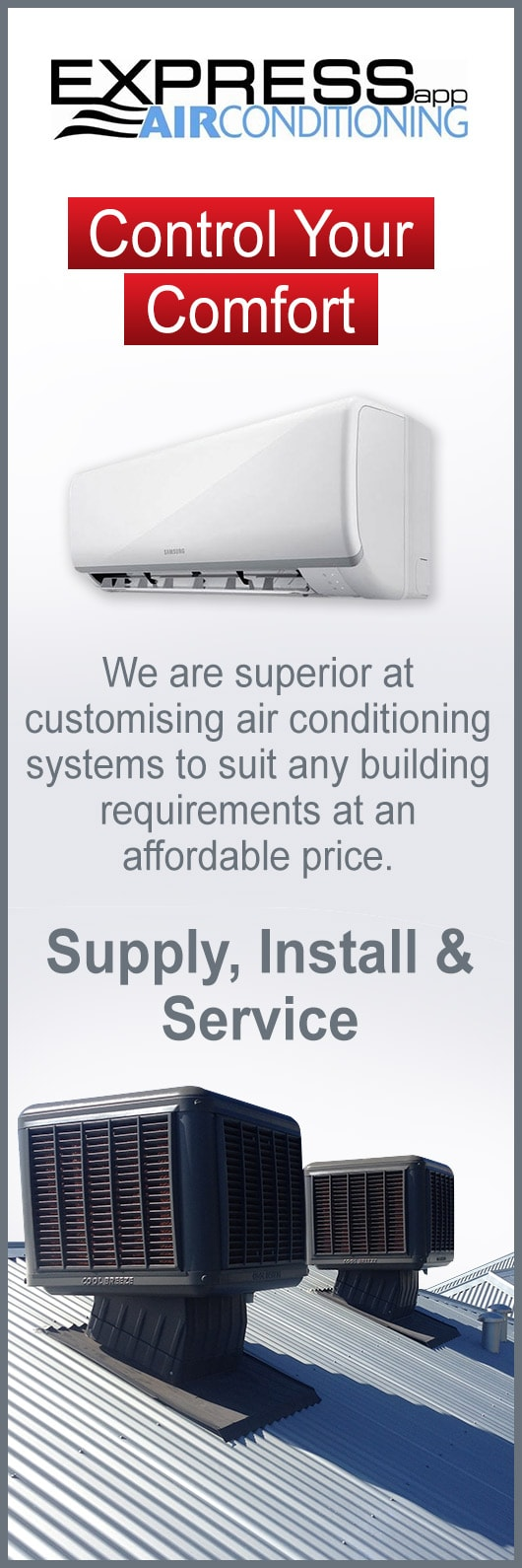 expressapp airconditioning - air conditioning installation & service