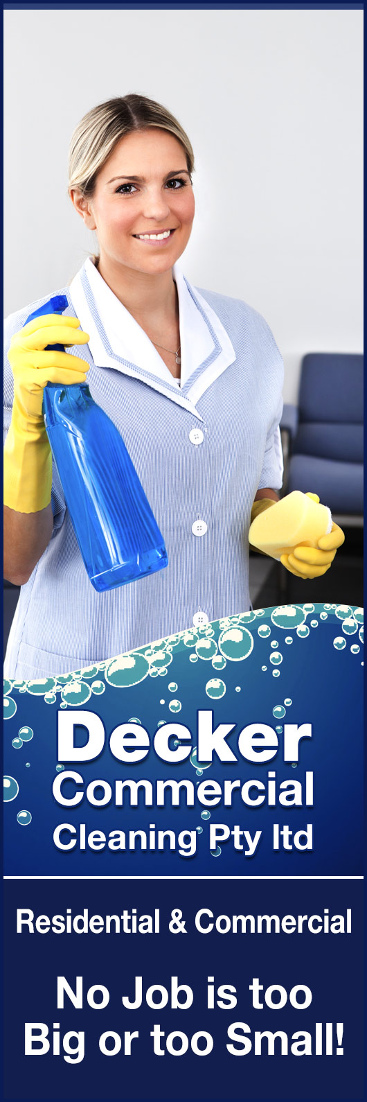 Decker commercial cleaning pty ltd promotion