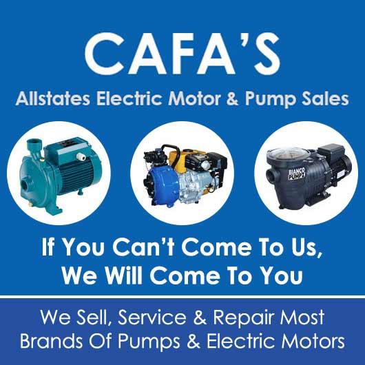 Cafa's All States Electric Motors Pump Sales & Repairs