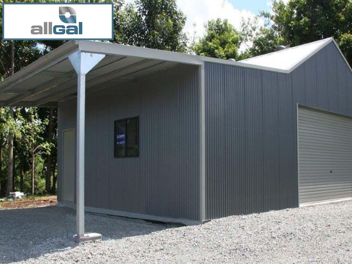 Allgal Residential Amp Rural Steel Frame Buildings Garage