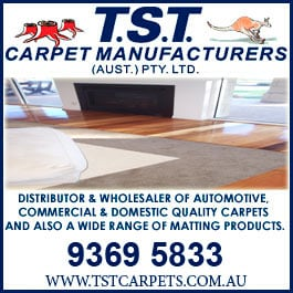 T.S.T. Carpet Manufacturers (Aust.) Pty Ltd - Promotion