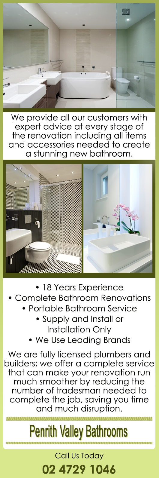 Penrith Valley Bathrooms - Bathroom Renovations & Designs - 232 ...