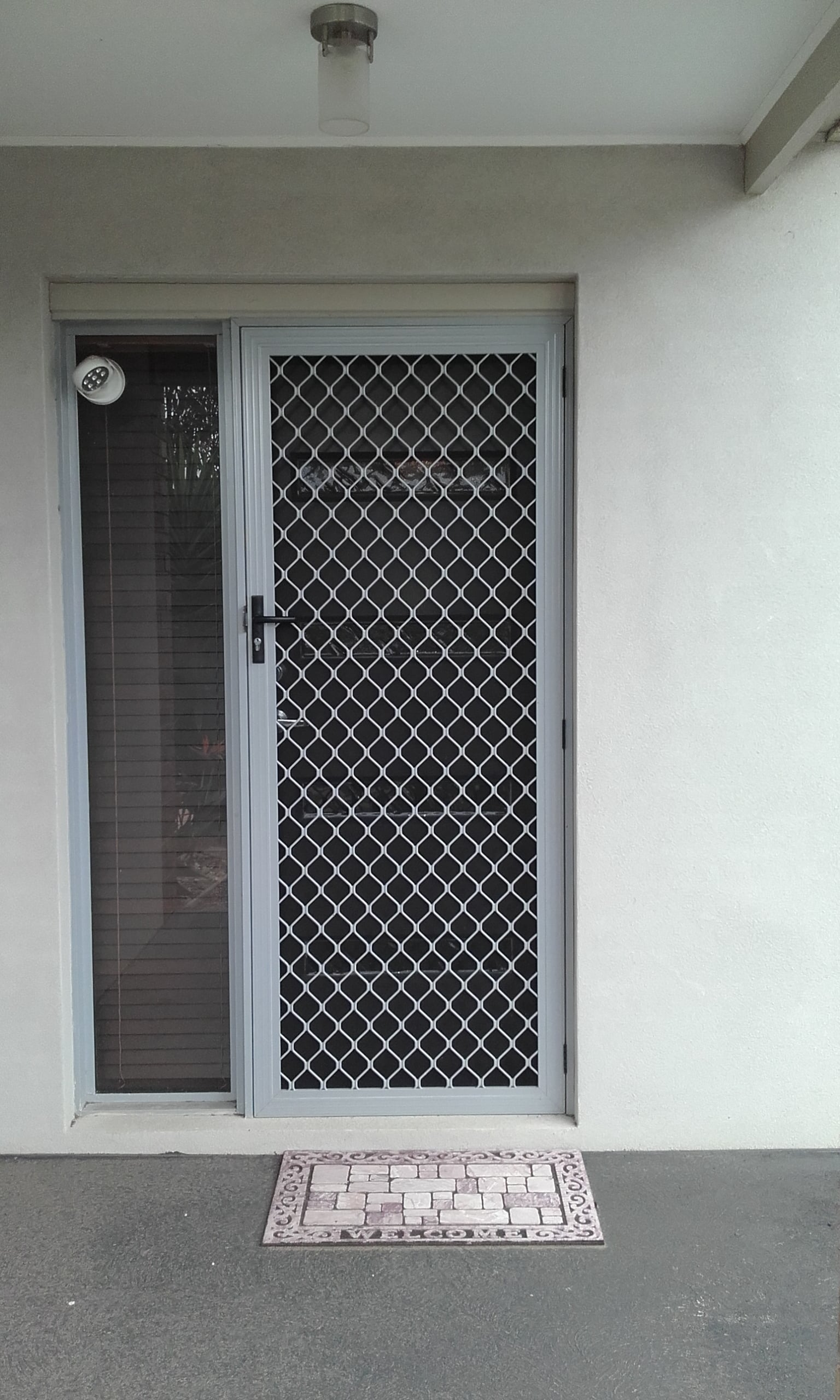 modern doors shutterway for gates stylish door with need protecting that security