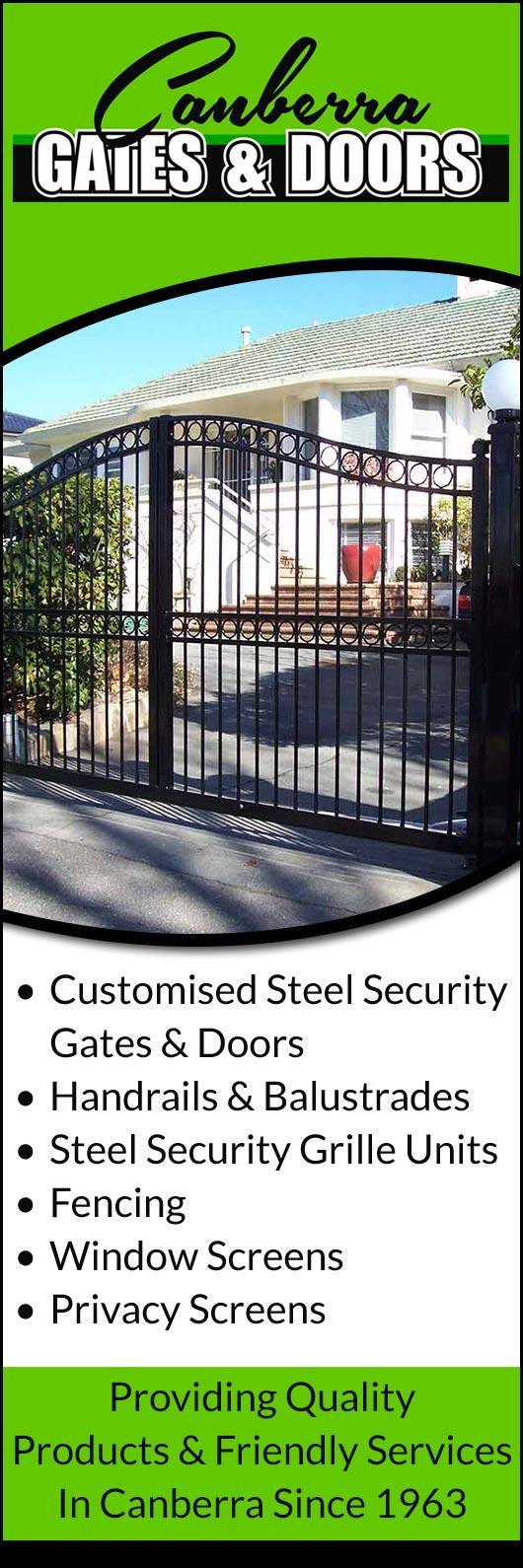Canberra Gates \u0026 Doors - Promotion & Canberra Gates \u0026 Doors - Gates - 17 Stephens Rd - Queanbeyan