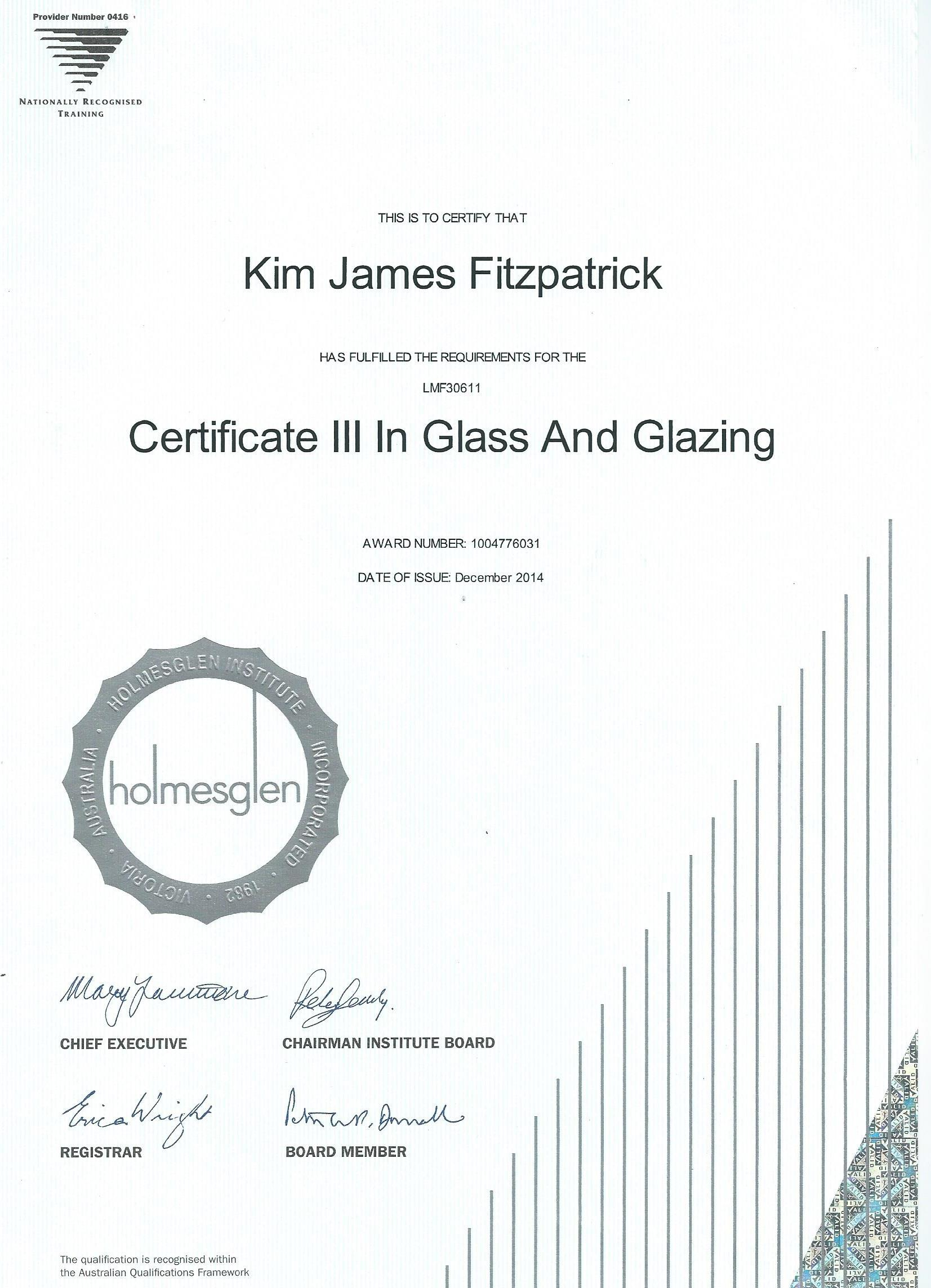 Australian Glass And Glazing Pty Ltd