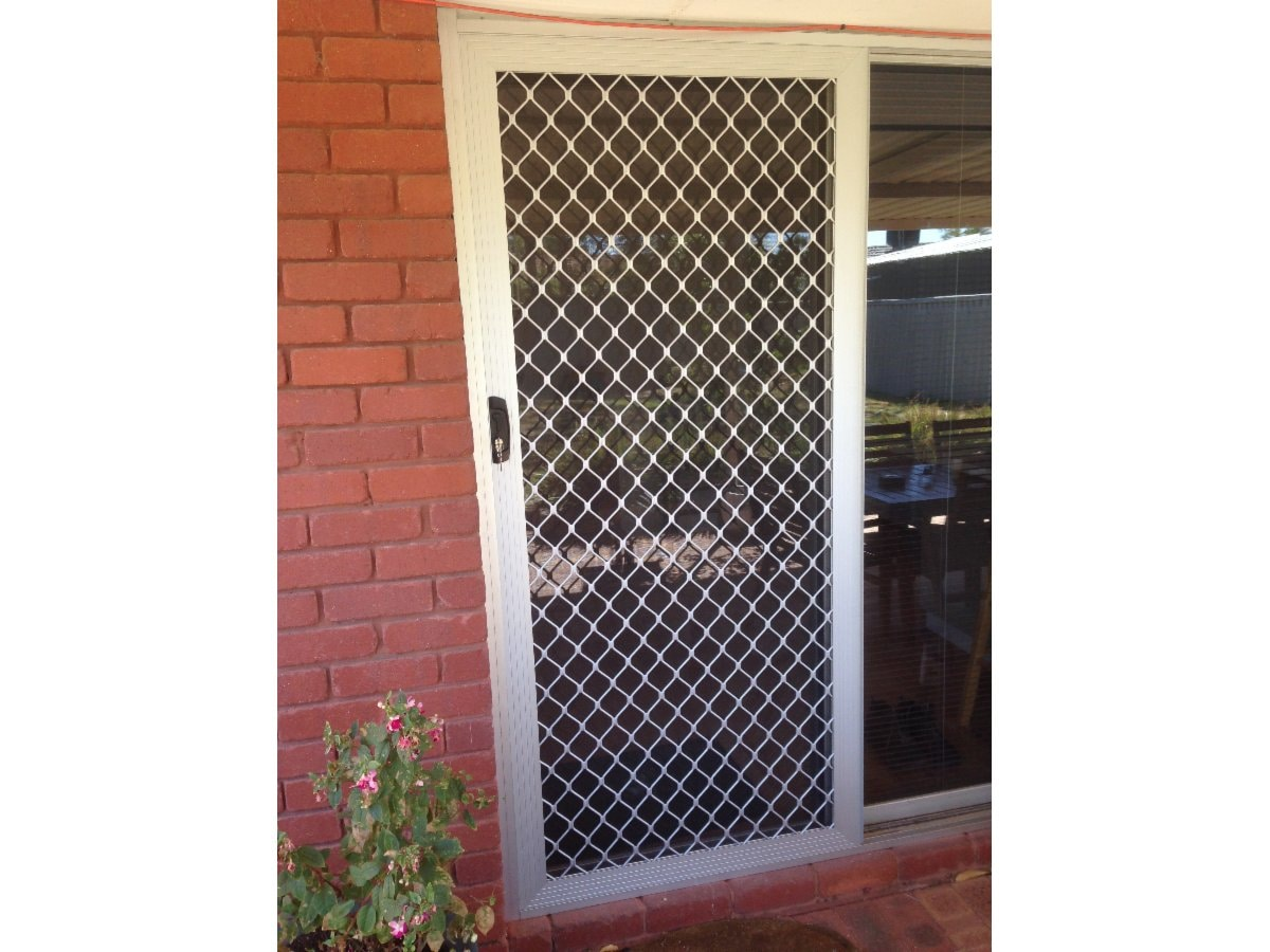 Grille door for added security  sc 1 st  Yellow Pages : fremantle doors - pezcame.com