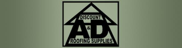 A U0026amp; D Discount Roofing Supplies   Logo