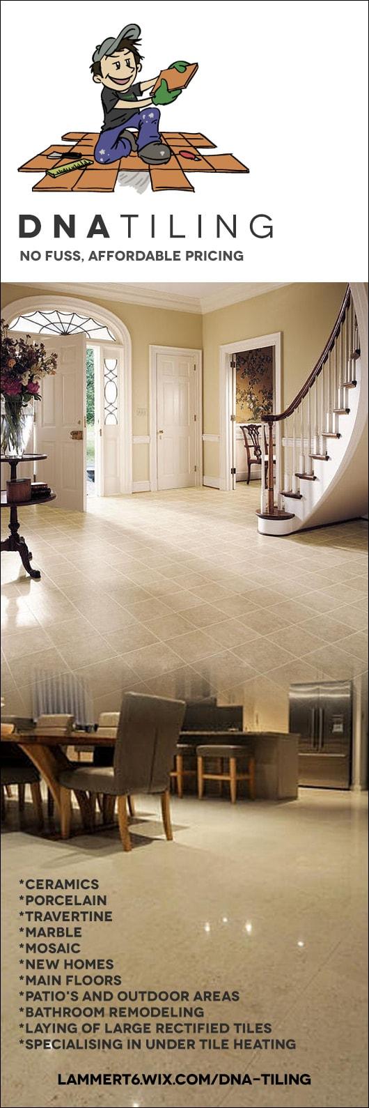 Dna tiling contractors wall floor tilers 17 ridgeview rd dna tiling contractors promotion dailygadgetfo Choice Image