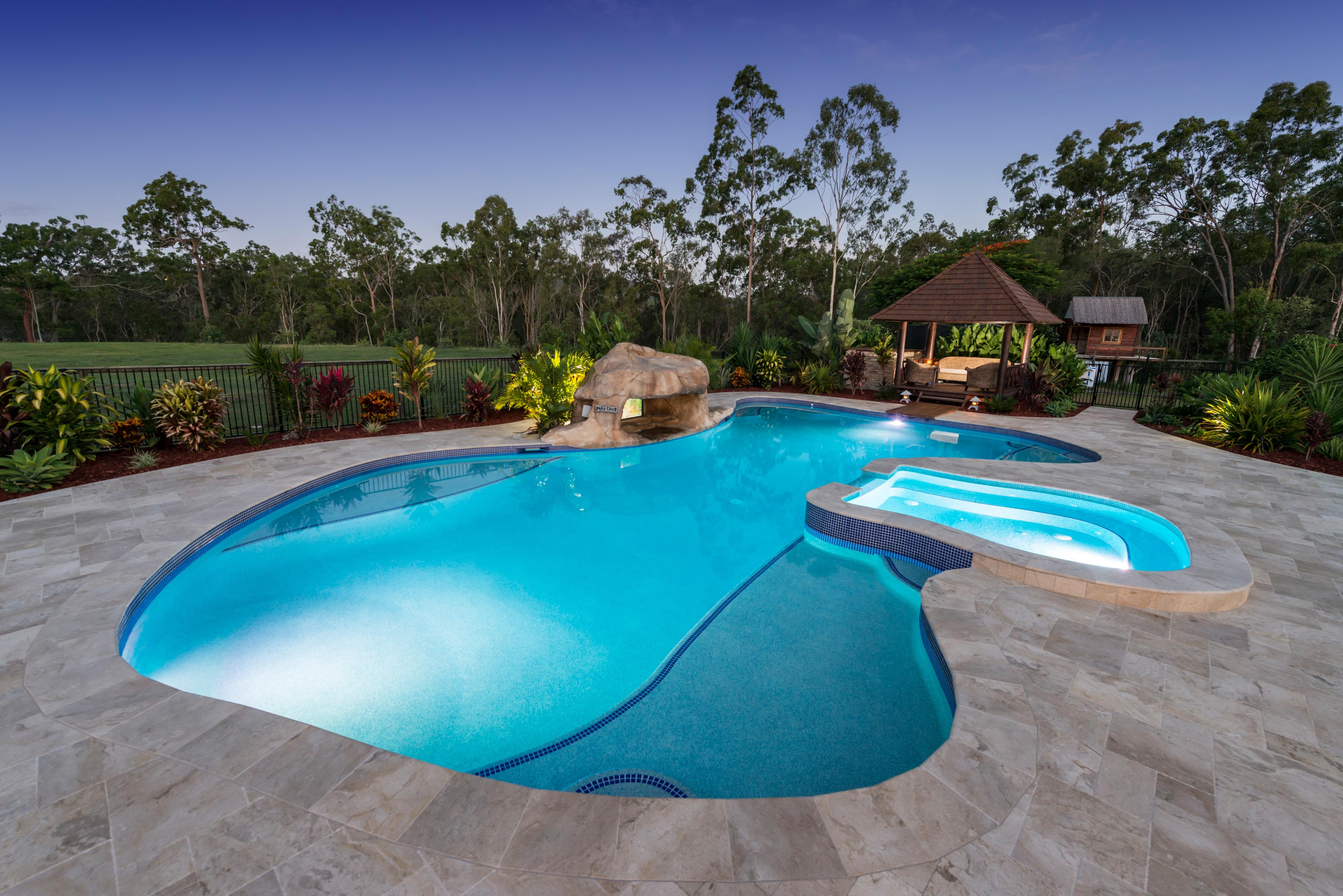 JB Pool Construction Swimming Pool Designs