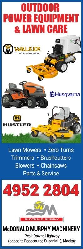 McDonald Murphy Machinery Pty Ltd - Lawn Mower Shops & Repairs