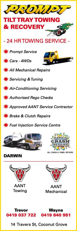 prompt tilt tray towing recovery towing services 14 travers st