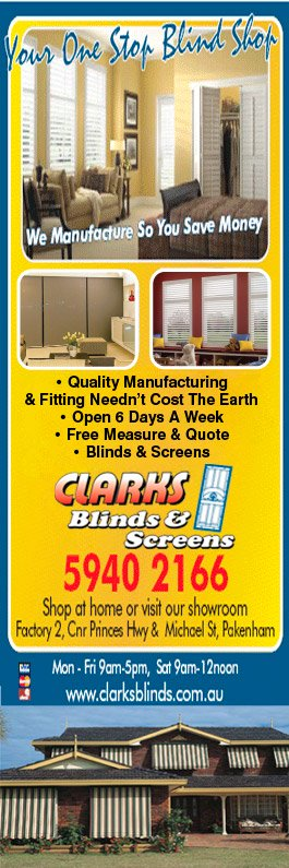 Clark\u0027s Blinds \u0026 Screens - Promotion & Clark\u0027s Blinds \u0026 Screens - Security Doors Windows \u0026 Equipment ... Pezcame.Com