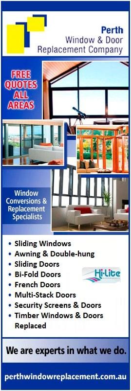 Perth Window U0026 Door Replacement Company   Promotion