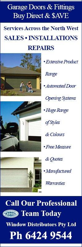 Window Distributors Pty Ltd Garage Doors Fittings 73 Hiller St