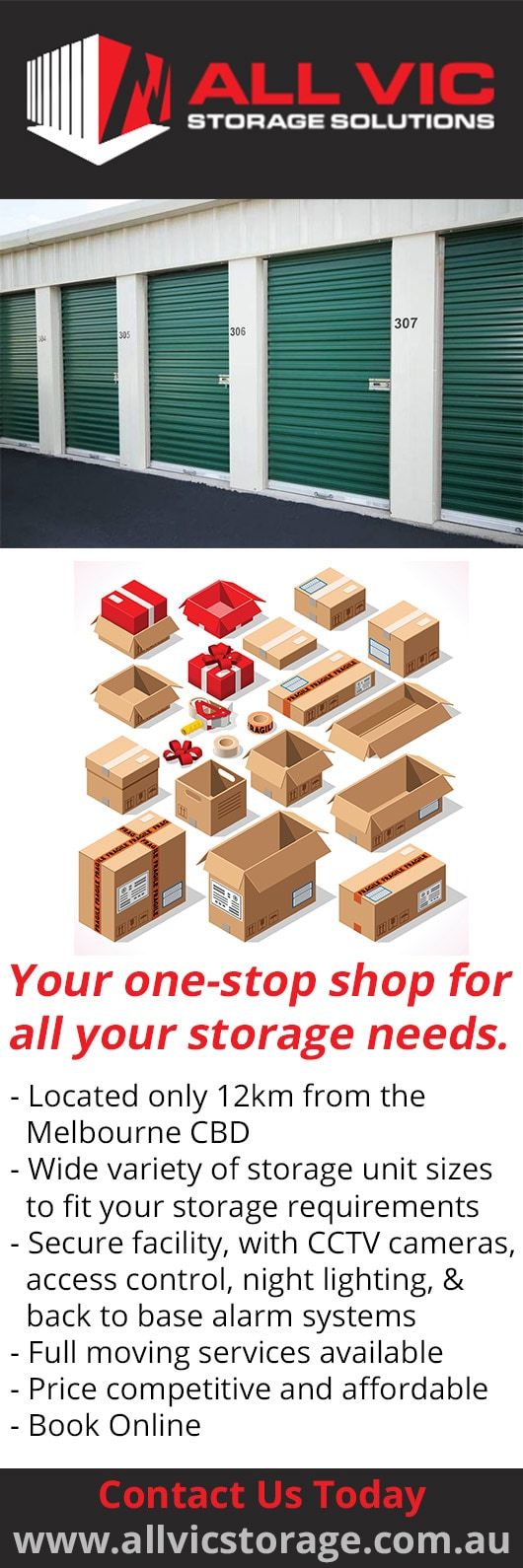 All Vic Mobile Storage - Promotion & All Vic Mobile Storage - Storage Solutions - PRESTON