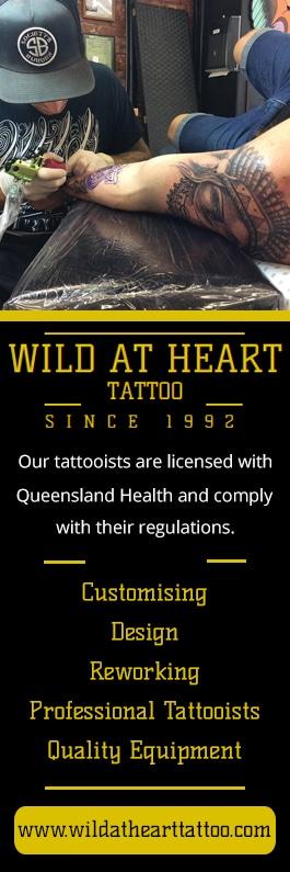 Wild at heart tattoo tattooist tattoo shop 1 117 for Wild at heart tattoo